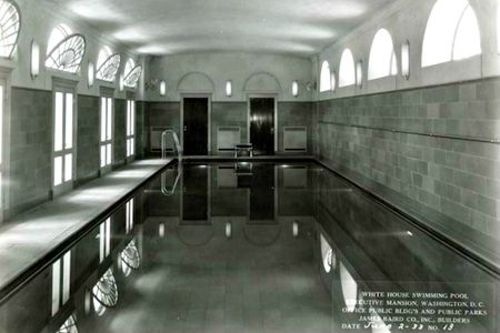 The Mystery Of Swimming Pool Beneath Press Room White House Indoor