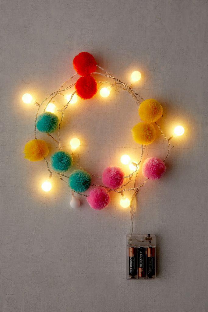 Pompom String Lights