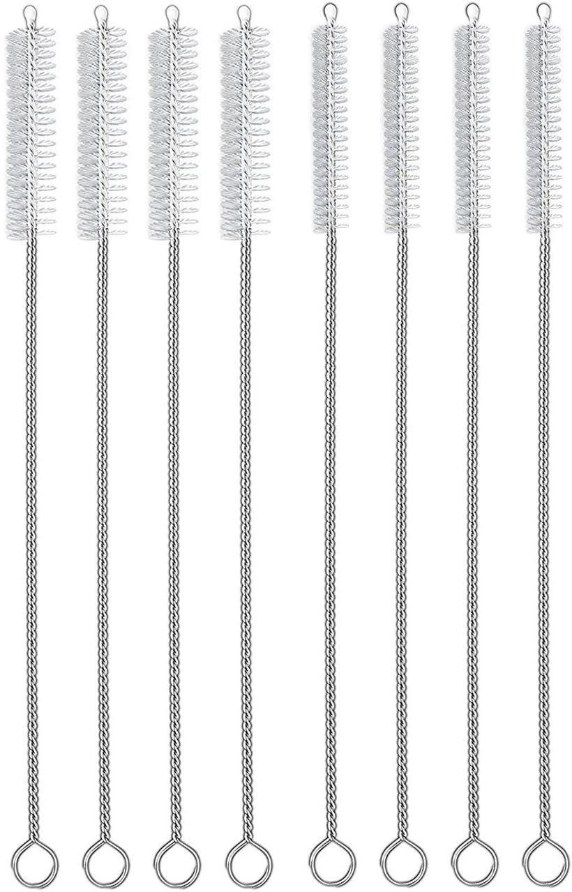 HIWARE Straw Cleaner Brush Set, 8-Piece