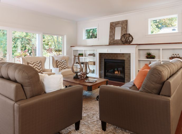 Living Room Updates to Make Before You Sell