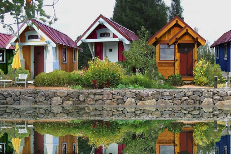 A Tiny House Community