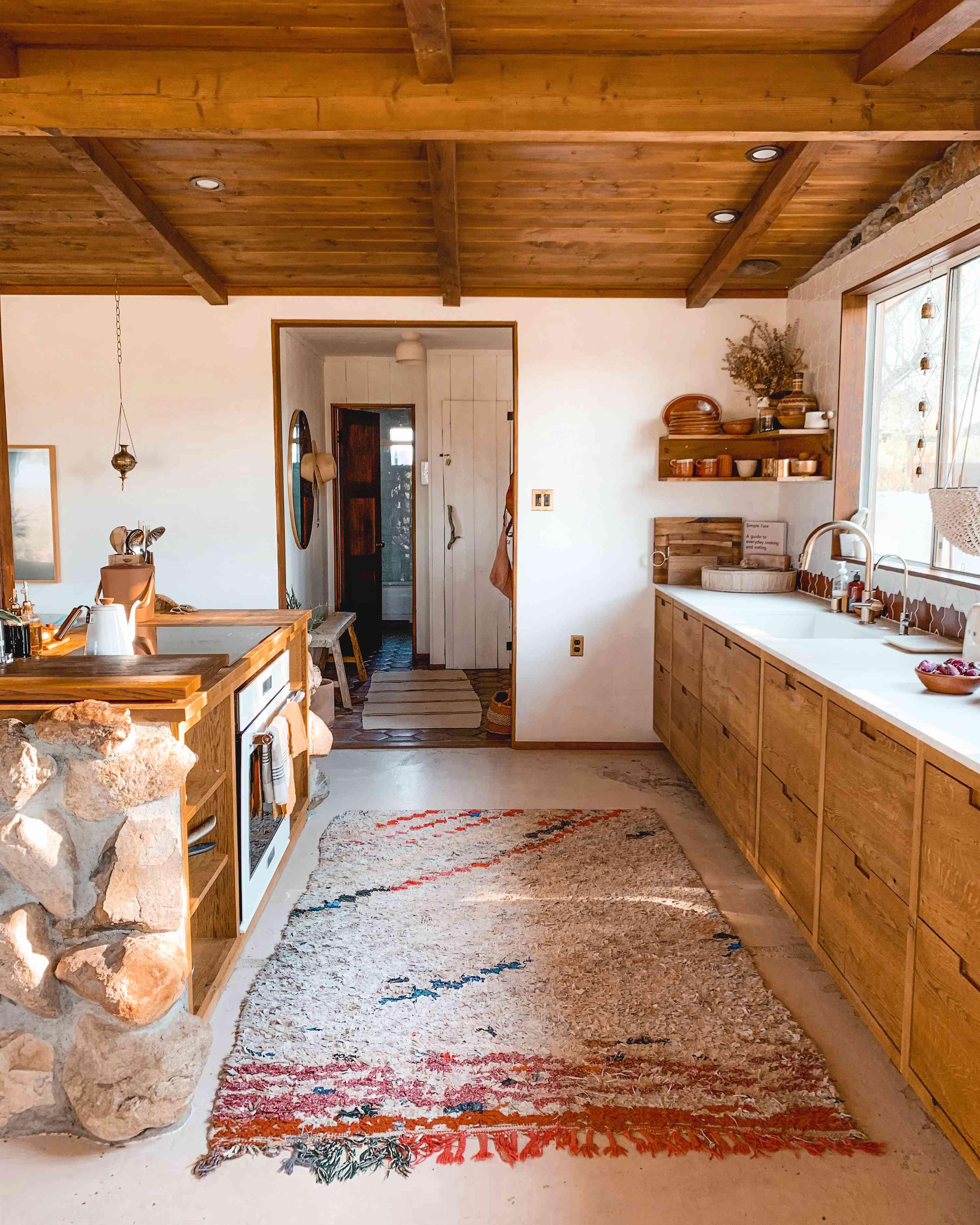 The Kitchen at The Joshua Tree House
