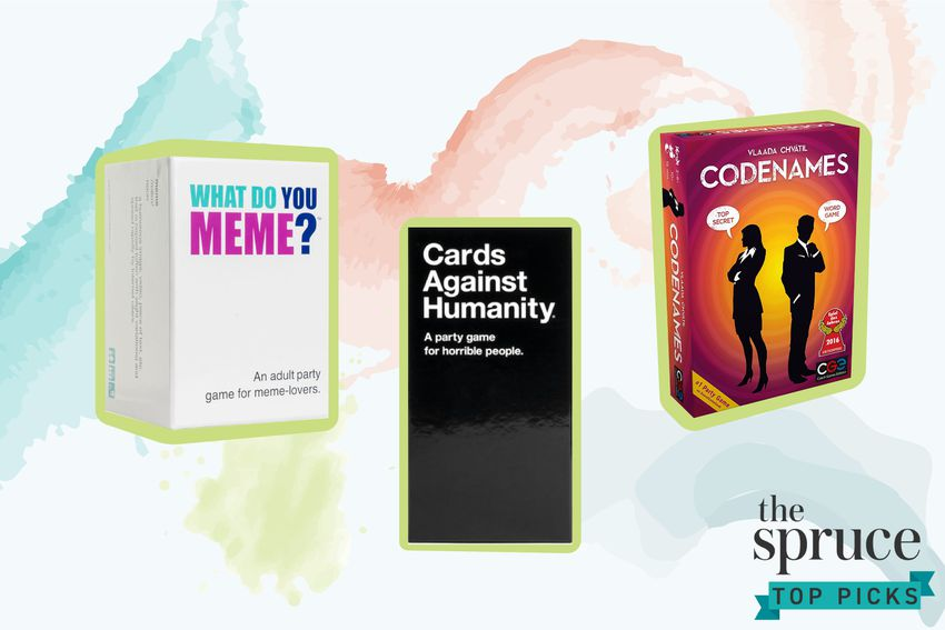 Party Games for Adults What Do You Meme Codenames