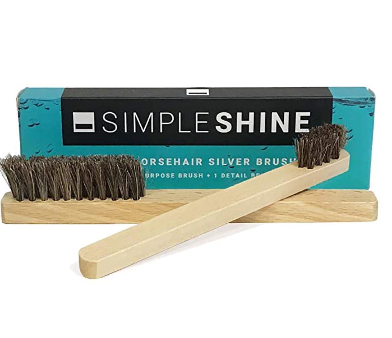 Simple Shine Horsehair Brush