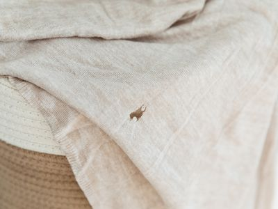 large hole in clothing