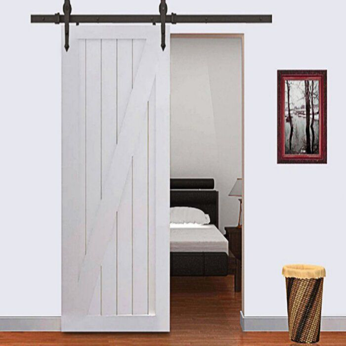 Vancleef Arrow Standard Sliding Single Track Barn Door Hardware