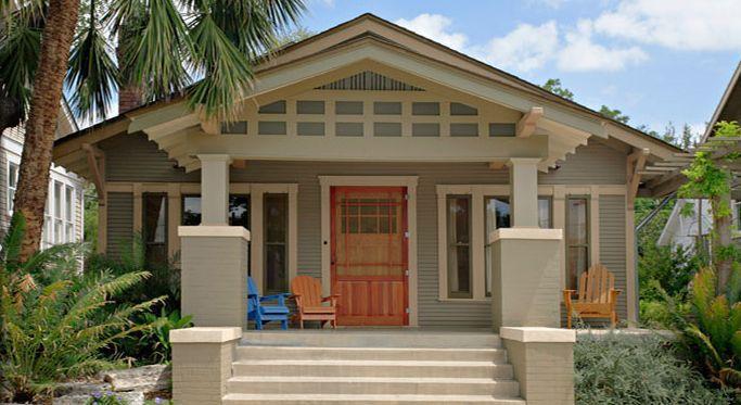Benjamin Moore Craftsman exterior paint color