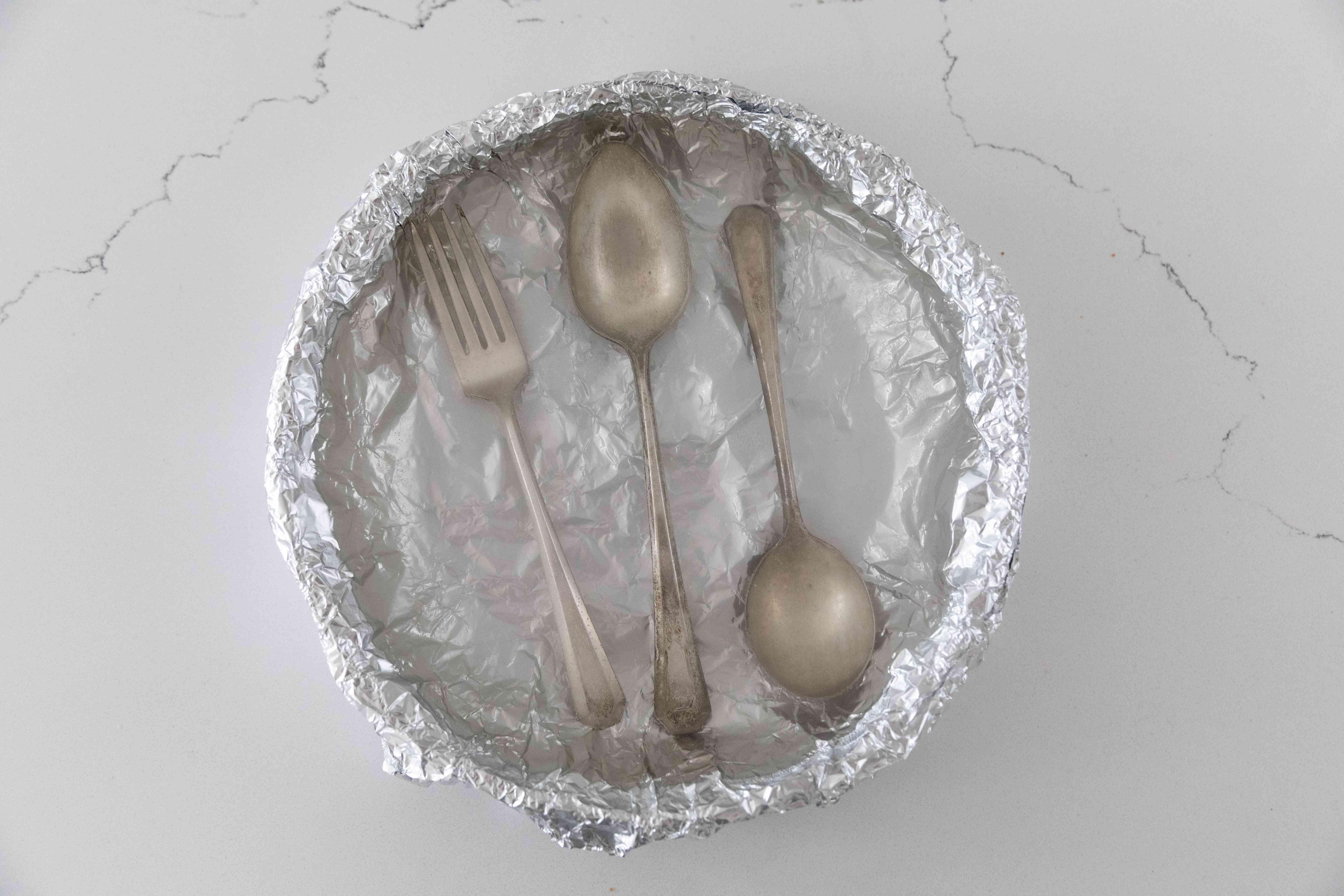 letting the silver soak