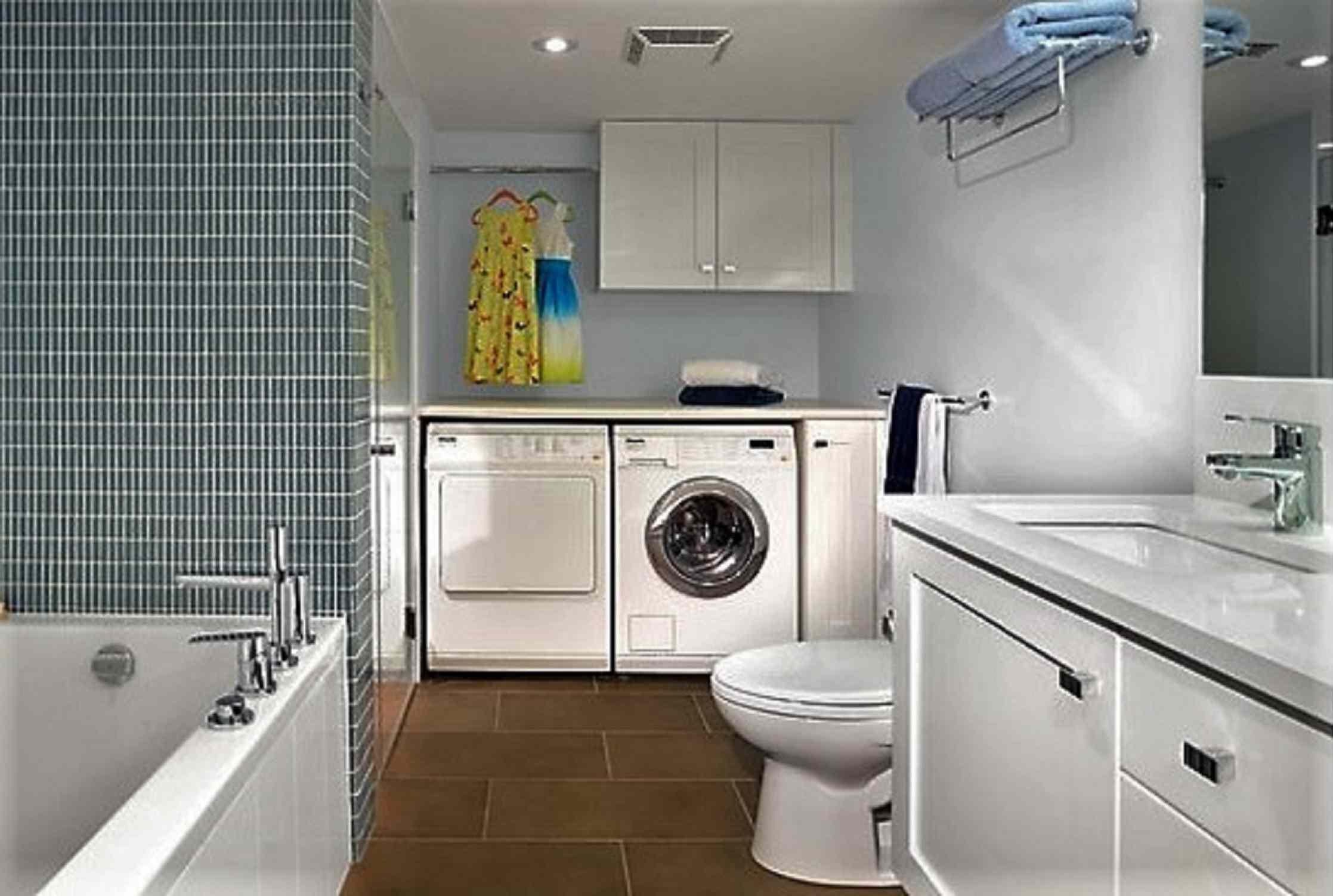Tiled Bath Laundry BIG