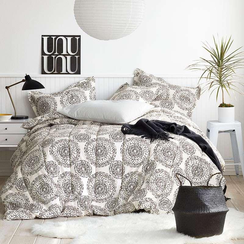 Cstudio Organic Cotton Percale Comforter Set