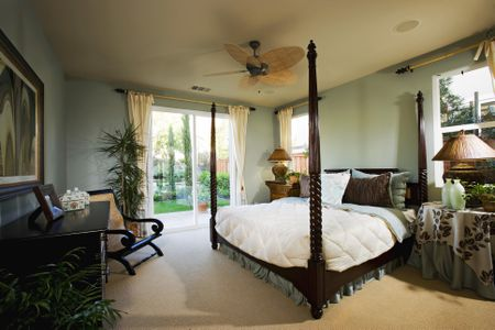 bedroom modern english style interior design