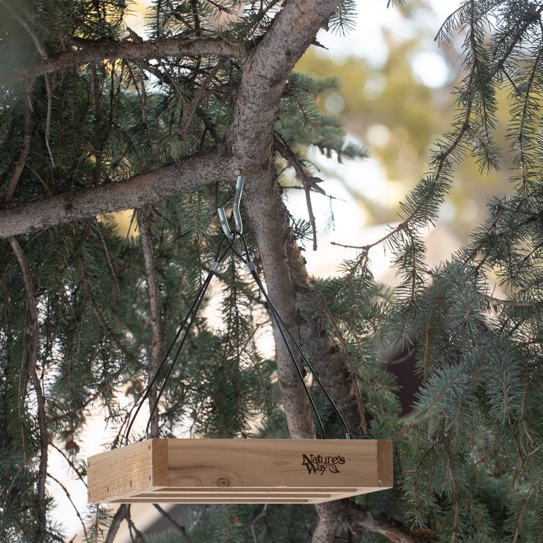 Nature's Way Hanging Platform Bird Feeder