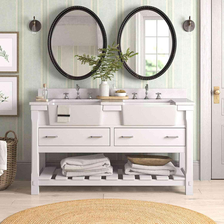 Charlotte 60-inch Double Bathroom Vanity