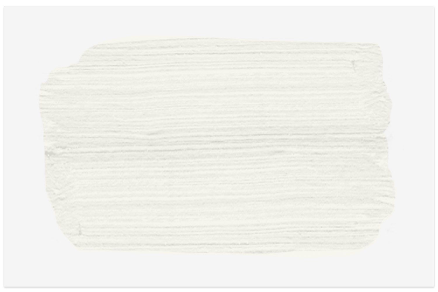 Simply White OC-117 paint swatch from Benjamin Moore
