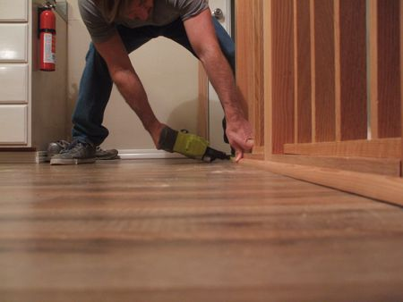 How To Install Shoe Molding Or Quarter Round Molding