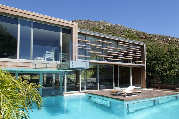 modern pool in south africa