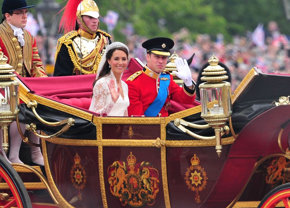 The Wedding of Prince William with Catherine Middleton