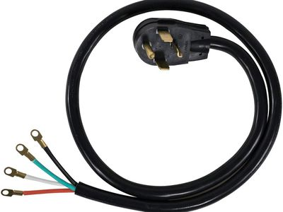 How to Wire a 4-Prong Receptacle for a Dryer  Prong Dryer Wiring Circuit on