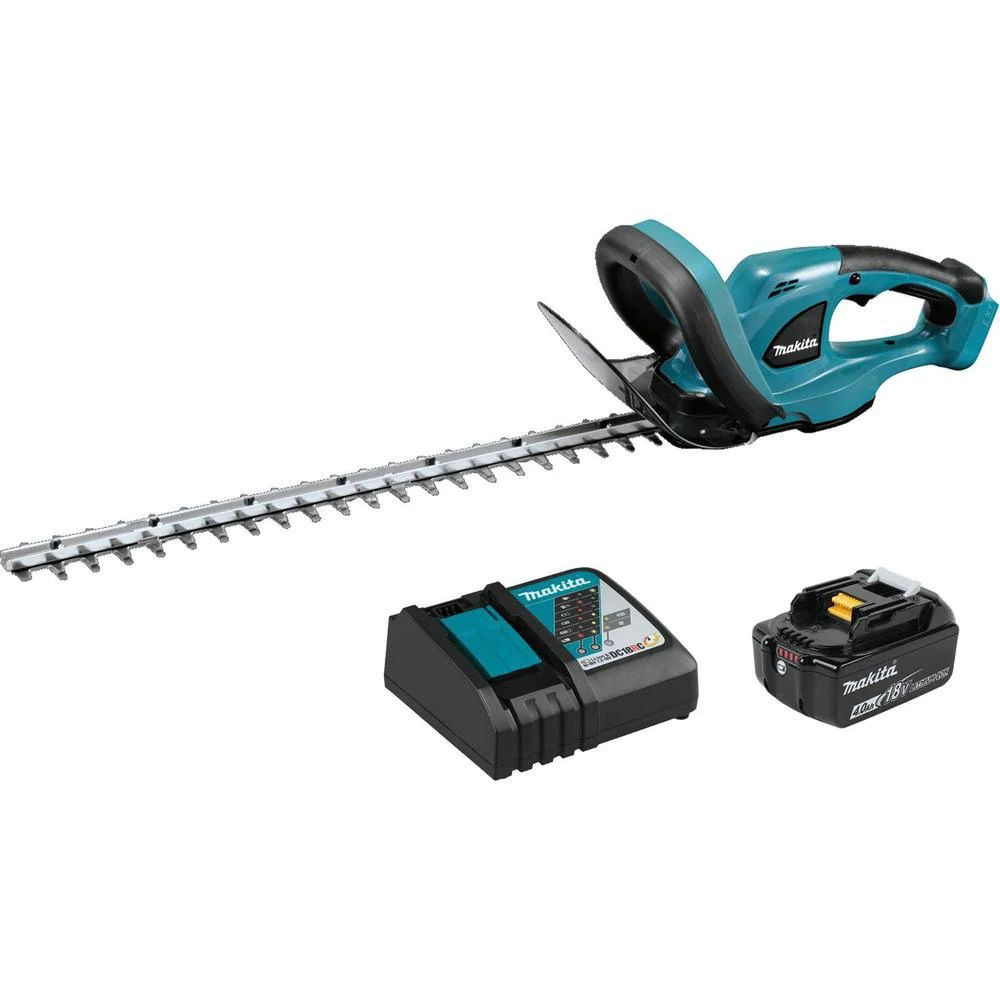 Makita 22 in. 18-Volt LXT Lithium-Ion Cordless Hedge Trimmer Kit