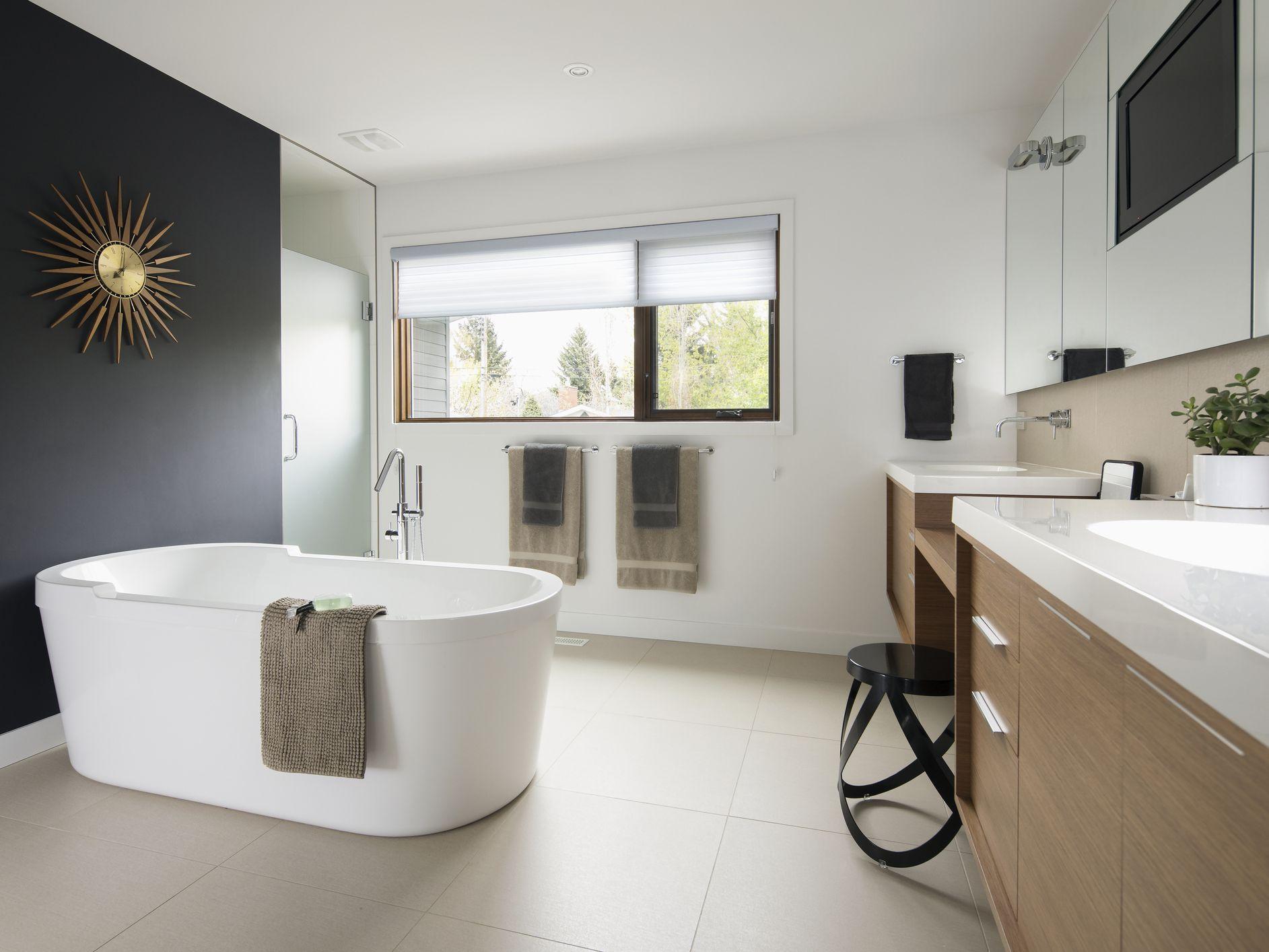 10 Ideas for Modern-Style Bathrooms