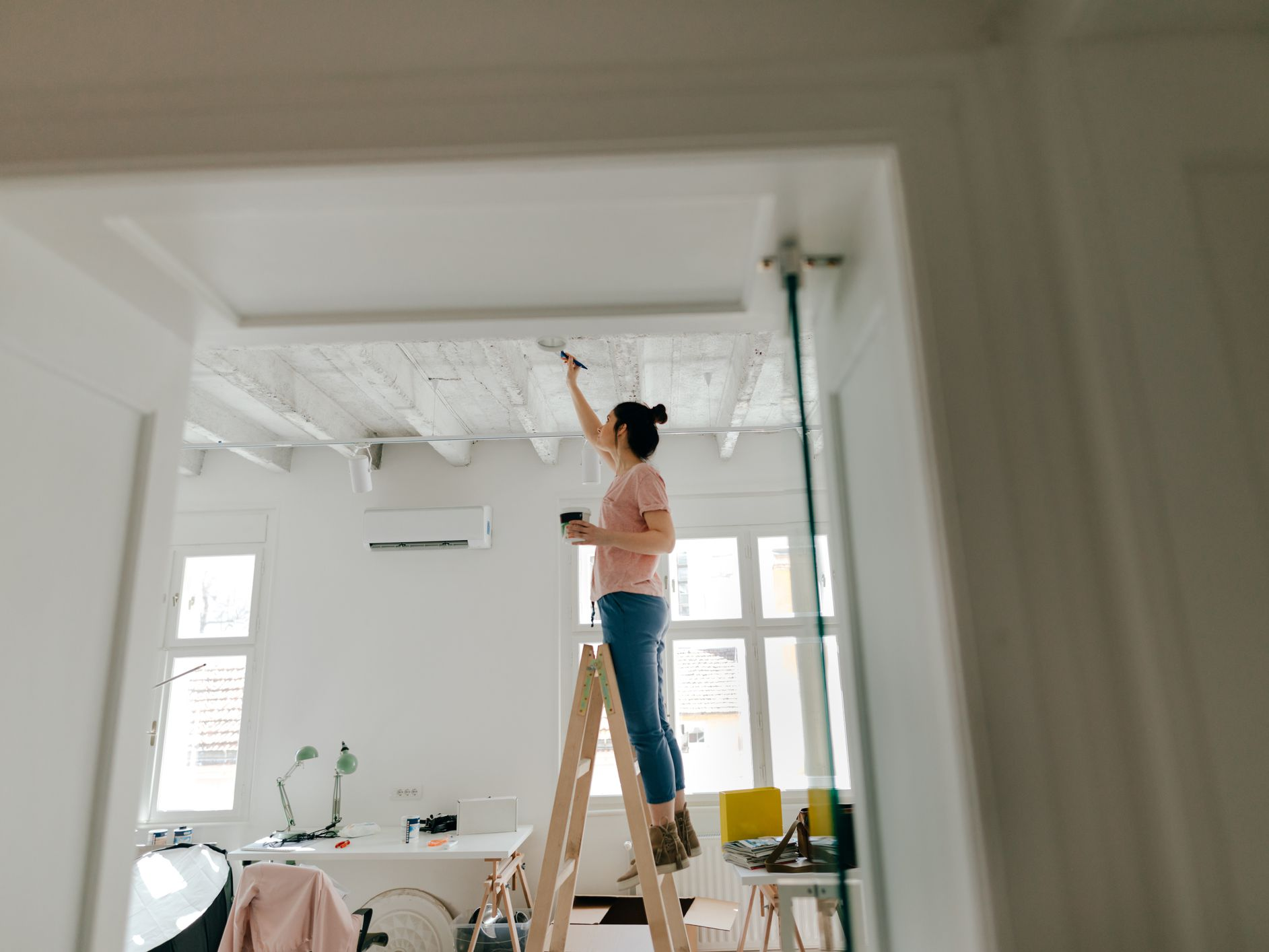 Best Ceiling Paint What To Know Before You Buy,Nancy Fuller Farmhouse Rules Cancelled