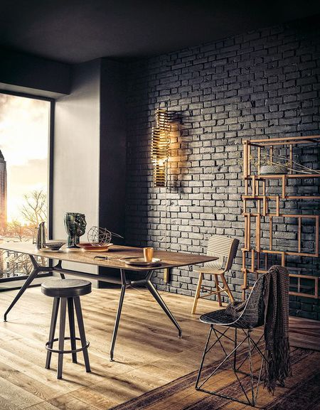 8 Black Dining Rooms With Y Style