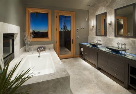 Astounding Bathroom Space Planning For Toilets Sinks And Counters Home Interior And Landscaping Palasignezvosmurscom