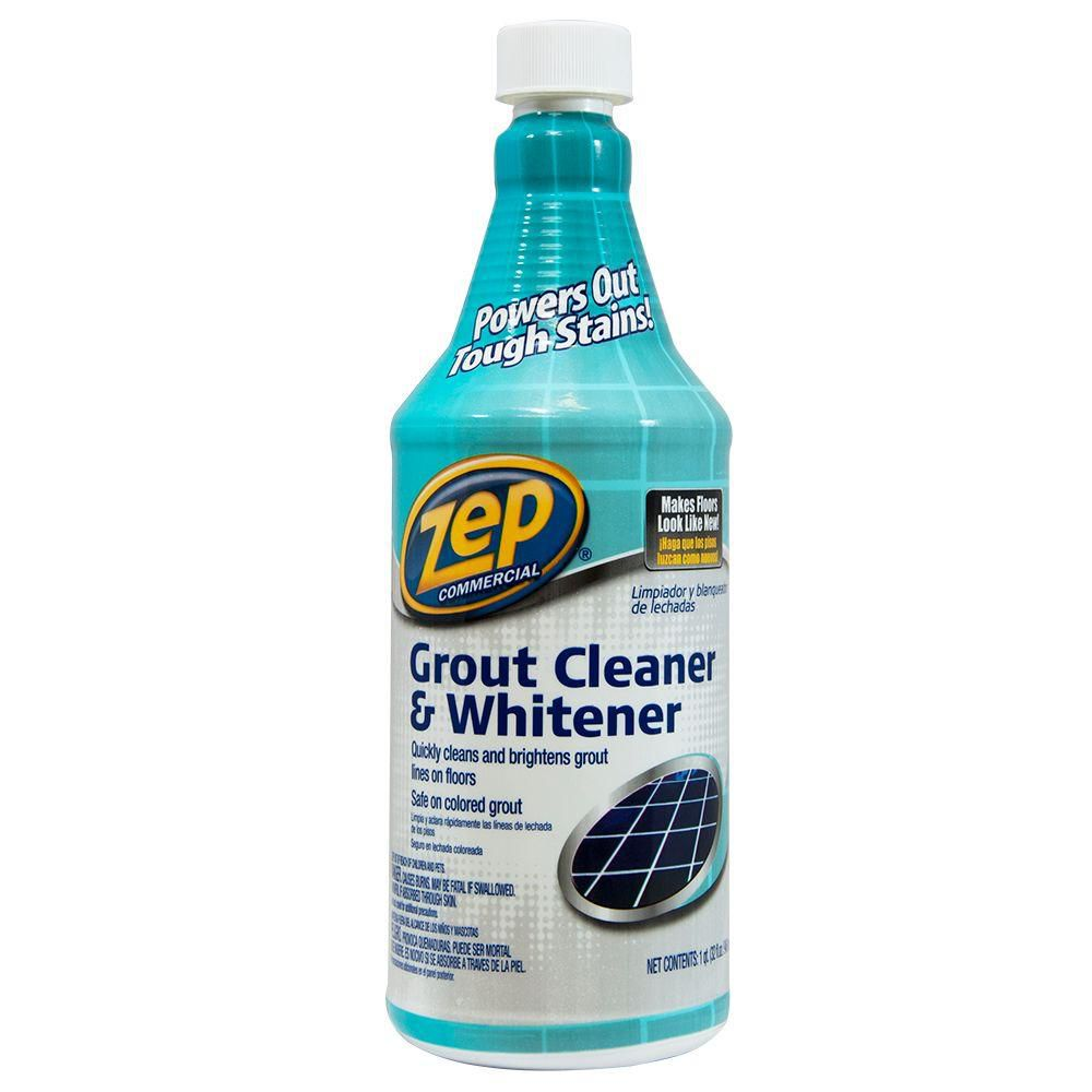 Best With A Whitener Zep Grout Cleaner And