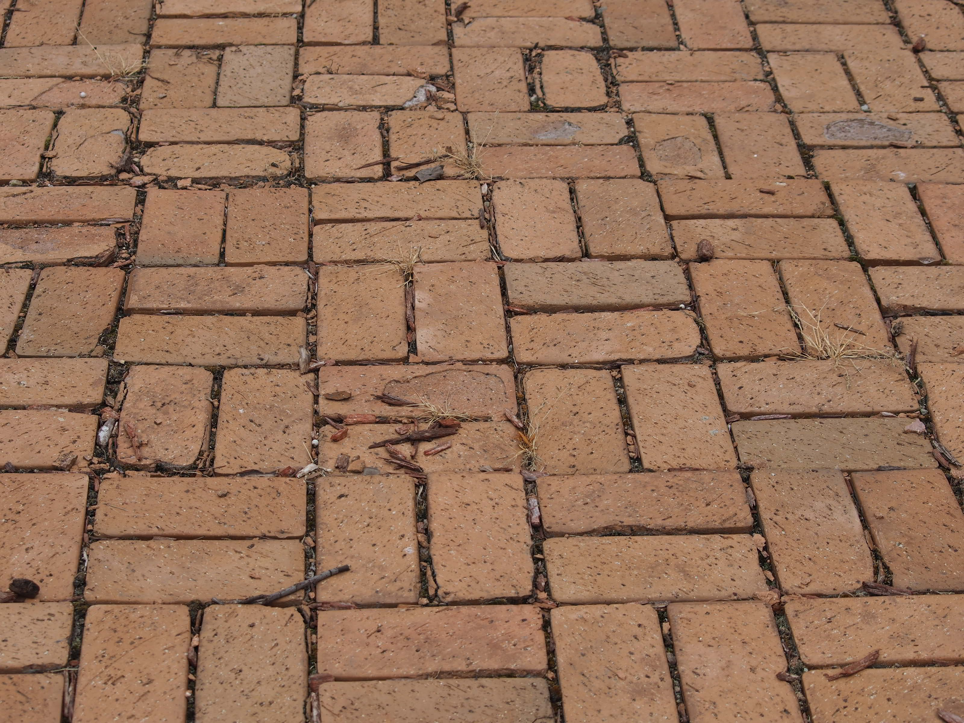 Brick Walkway Basket Weave Pattern