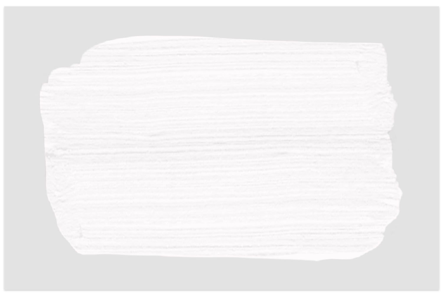 Farrow & Ball All White paint swatch