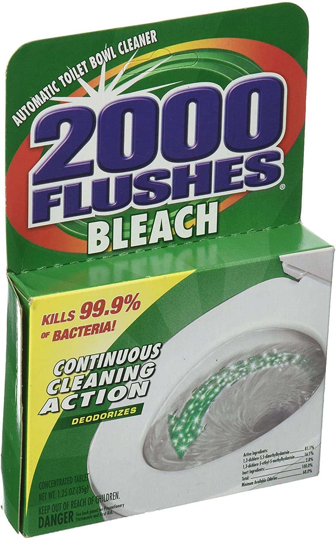 2000 FLUSHES Bleach