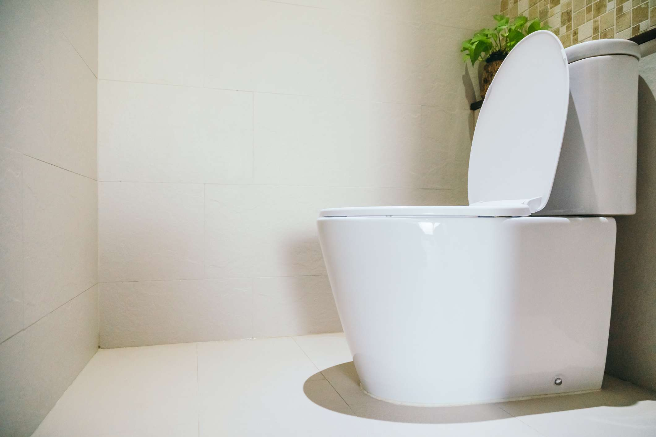 Integrated base toilet