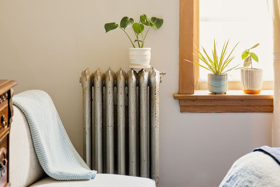 apartment with a radiator
