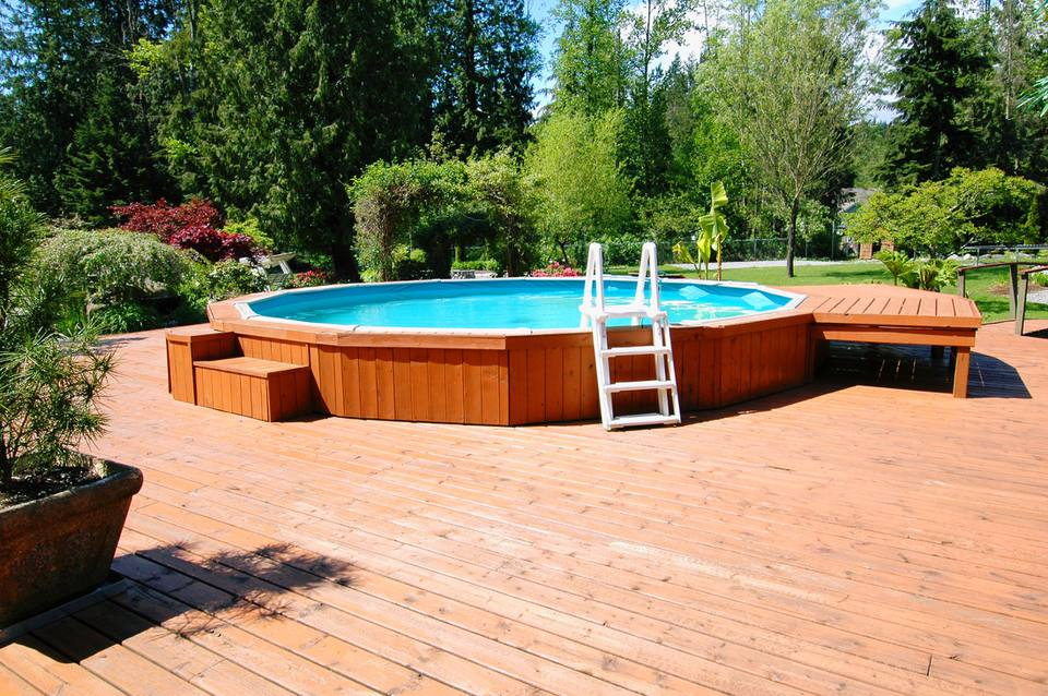 Above Ground Swimming Pools Designs