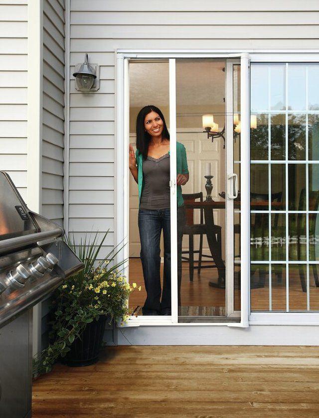 Larson Brisa Retractable Screen Door for Sliding Doors