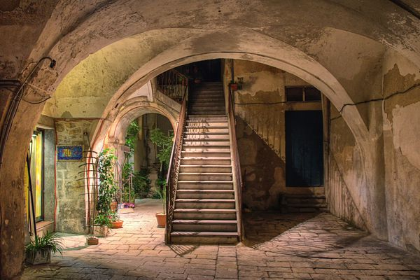 An Old House in Modica