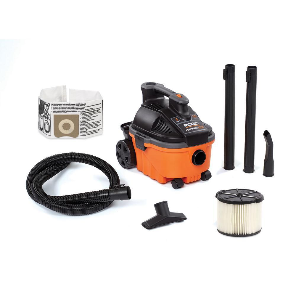 Rigid 4 Gal. Wet/Dry Shop Vacuum