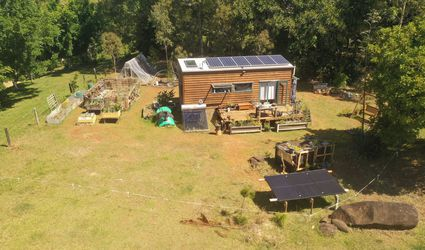 Off-grid tiny home in Byron Bay, Australia