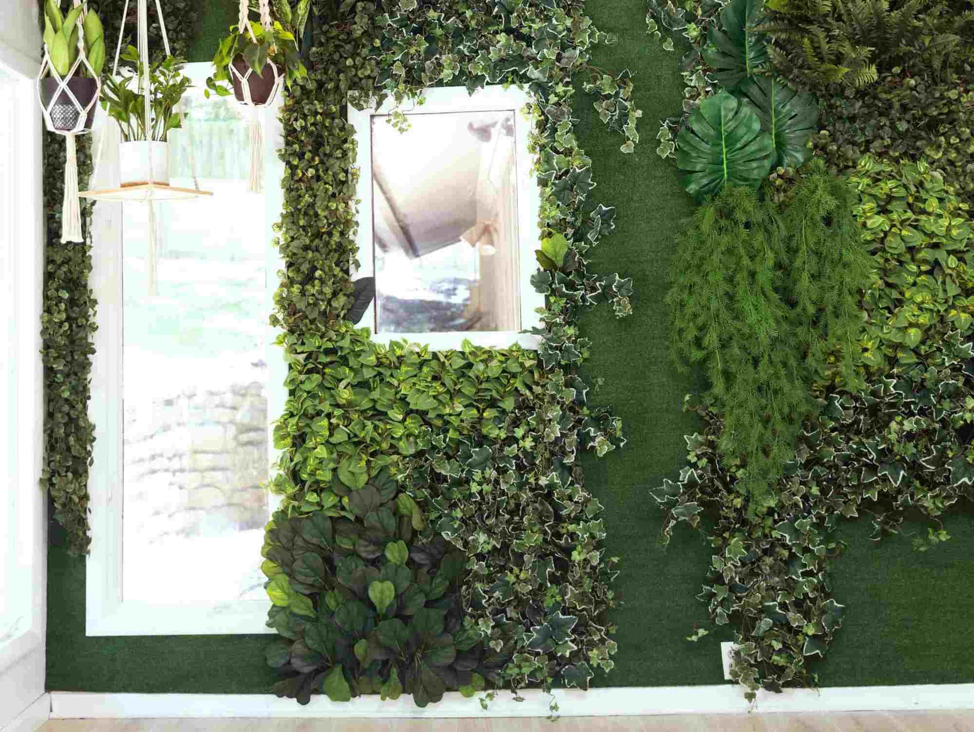 Faux Garden Wall