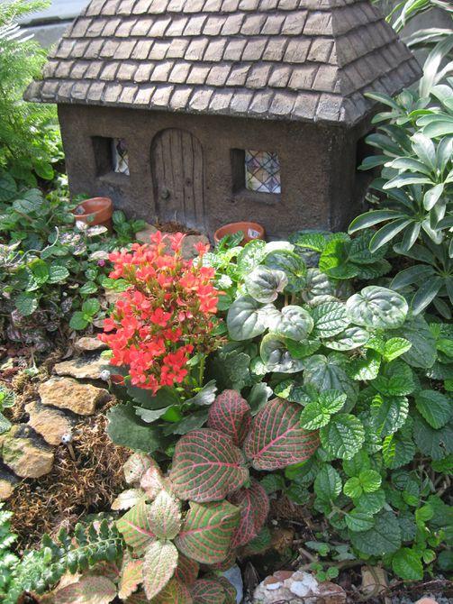 Casa de jardín de hadas