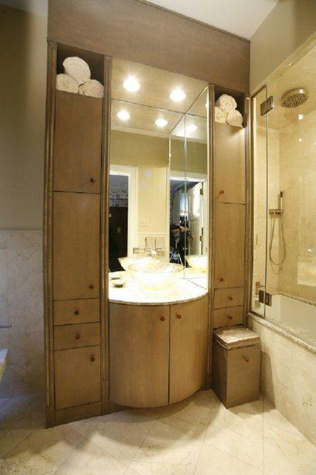 Remodelación de baño alto