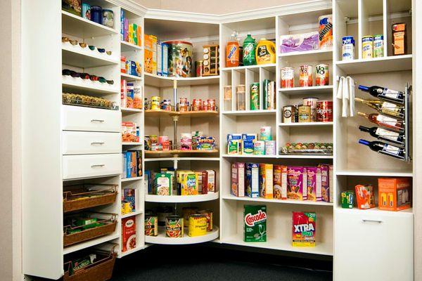 Stylish Kitchen Pantry