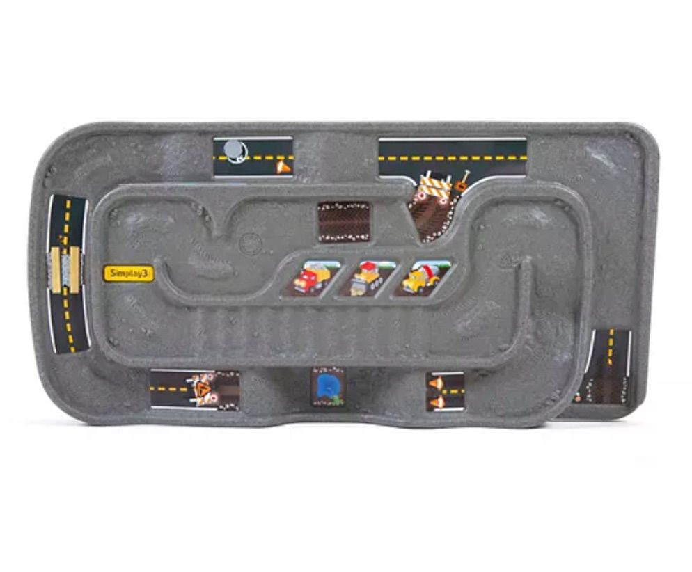 Carry and Go Durable Track Table for Toy Cars, Trucks, and Trains