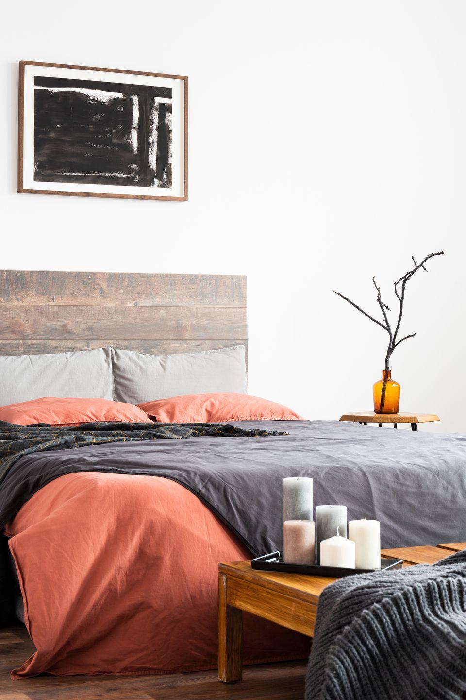 exciting blue orange bedroom ideas | Orange Bedroom Ideas