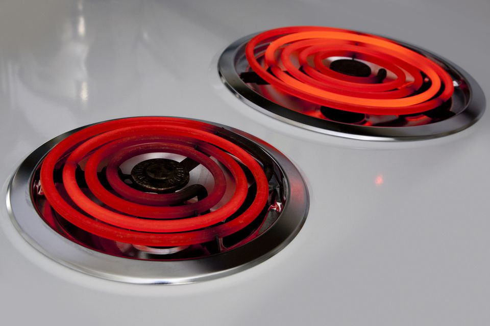 Electric stove burners