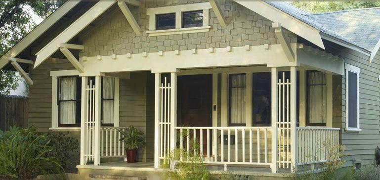 Exterior craftsman paint scheme