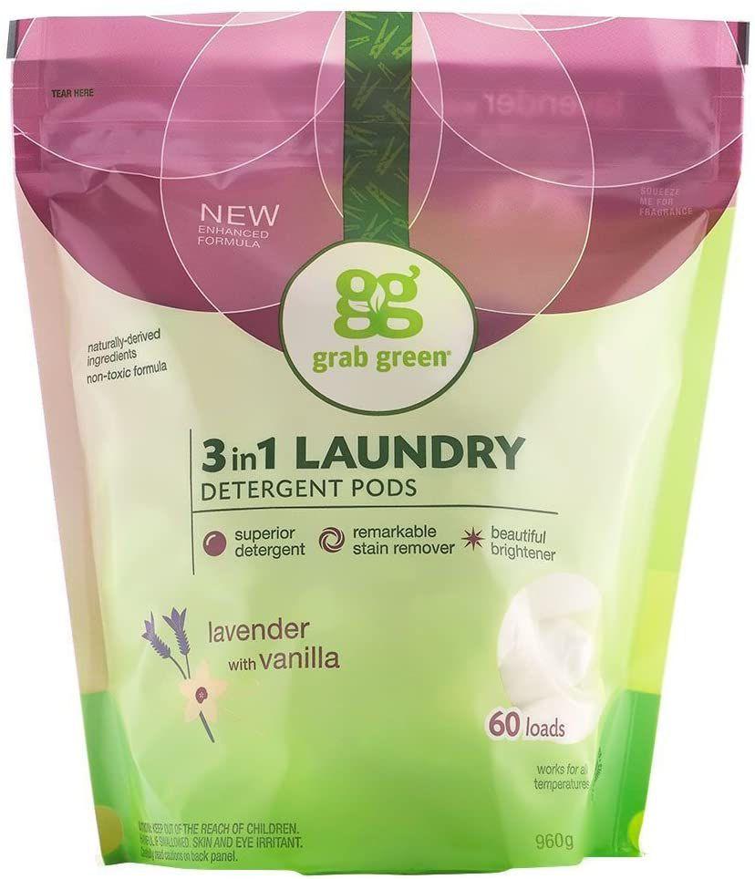 Grab Green Bleach Alternative Laundry Pods