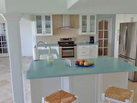 Bio Gl Countertop White Kitchen