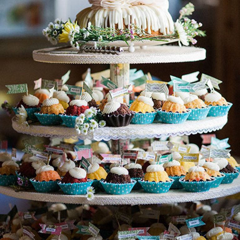 Wedding Reception Bundt Cake Bar