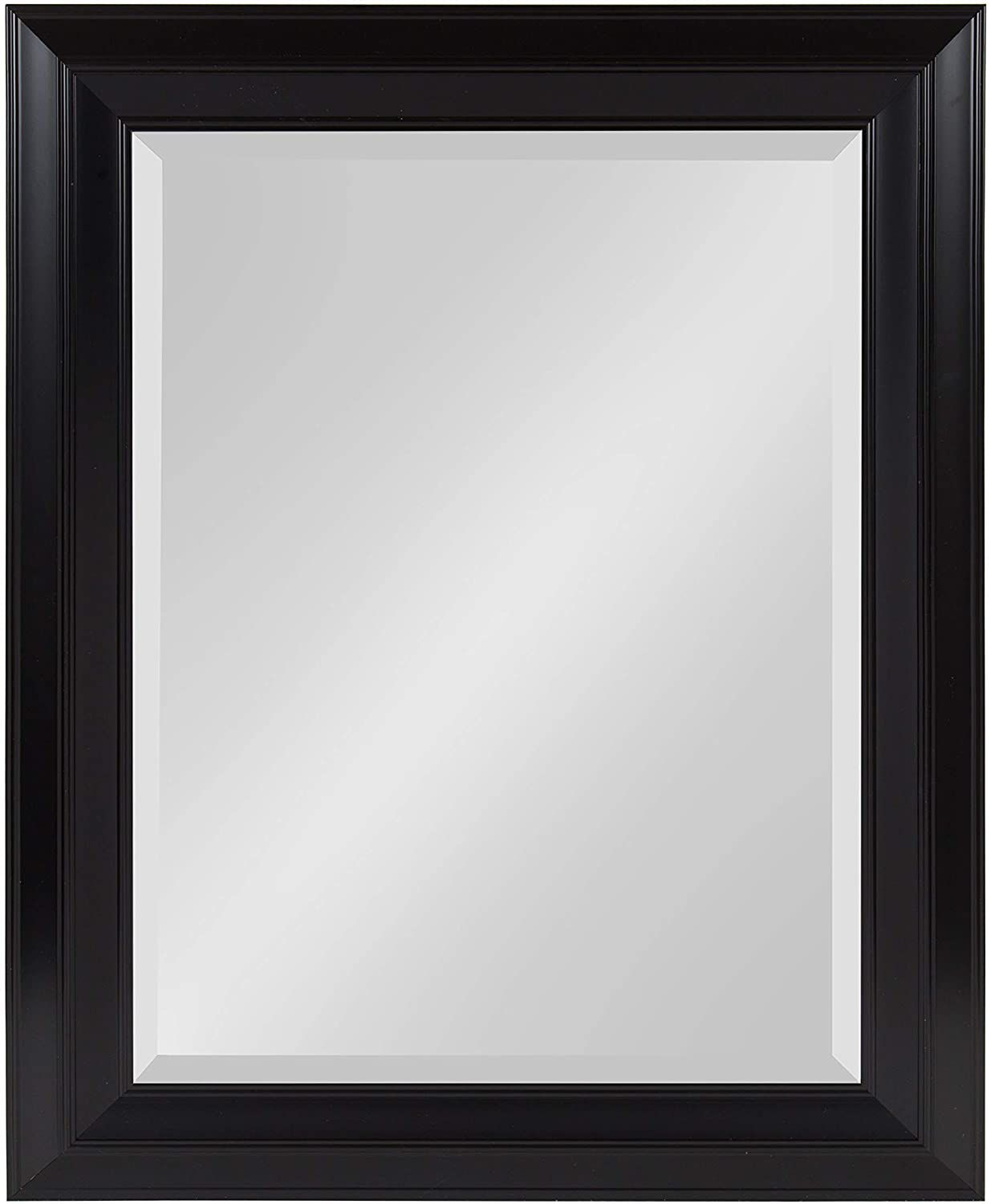 Kate and Laurel Whitley Classic Decorative Framed Beveled Wall Mirror